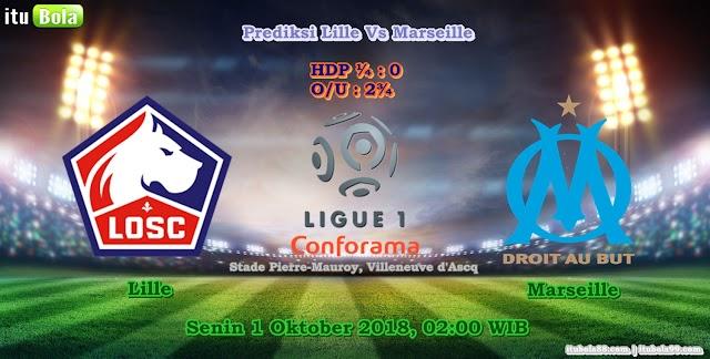 Prediksi Lille Vs Marseille - ituBola