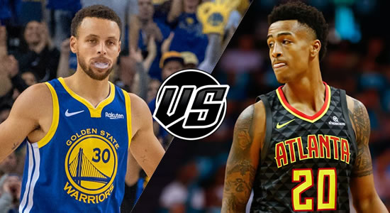 Live Streaming List: Golden State Warriors vs Atlanta Hawks 2018-2019 NBA Season