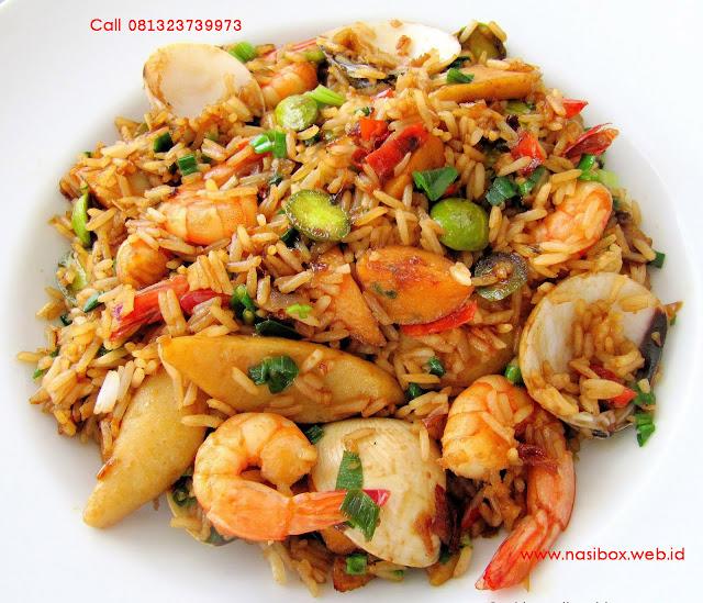 Resep nasi goreng seafood nasi box patenggang ciwidey