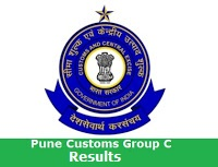 Pune Customs Group C Results