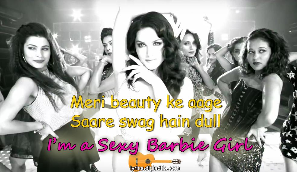 I'm a Sexy Barbie Girl Song Lyrics   Sunny Leone   Tera Intezaar   आइ ...