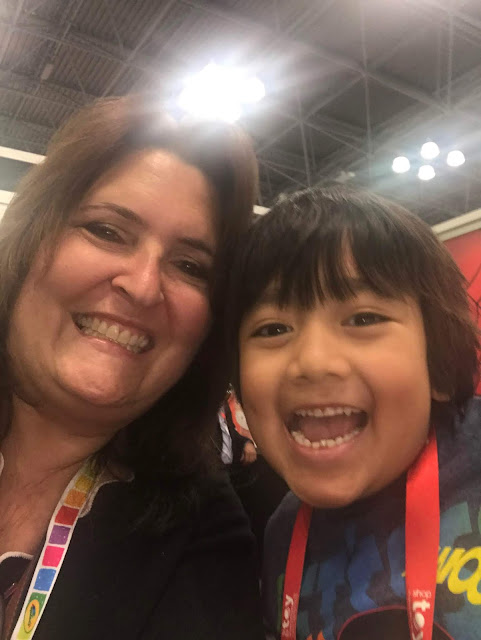 Ryan's World Reviews at Toy Fair