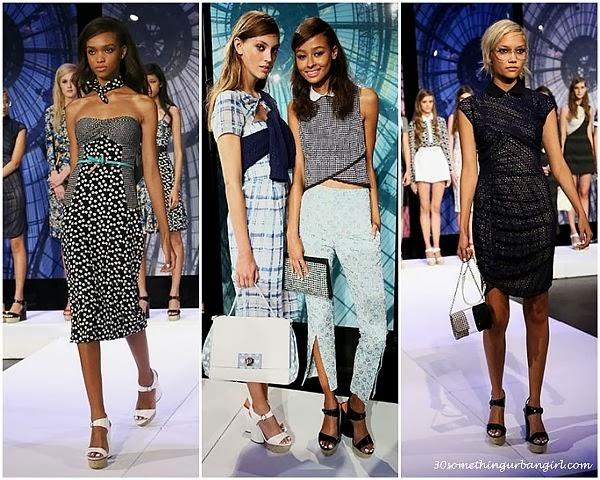 CharlotteRonson S/S2014 runway dresses