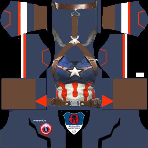 Super Heroes 512x512 Jersey Kits 2016 2017 Dream League Soccer 16