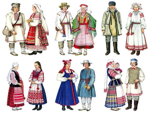 Национальный костюм Беларуси
