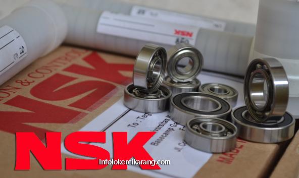 Lowongan Kerja PT. NSK Bearings Manufacturing Indonesia Kawasan MM2100
