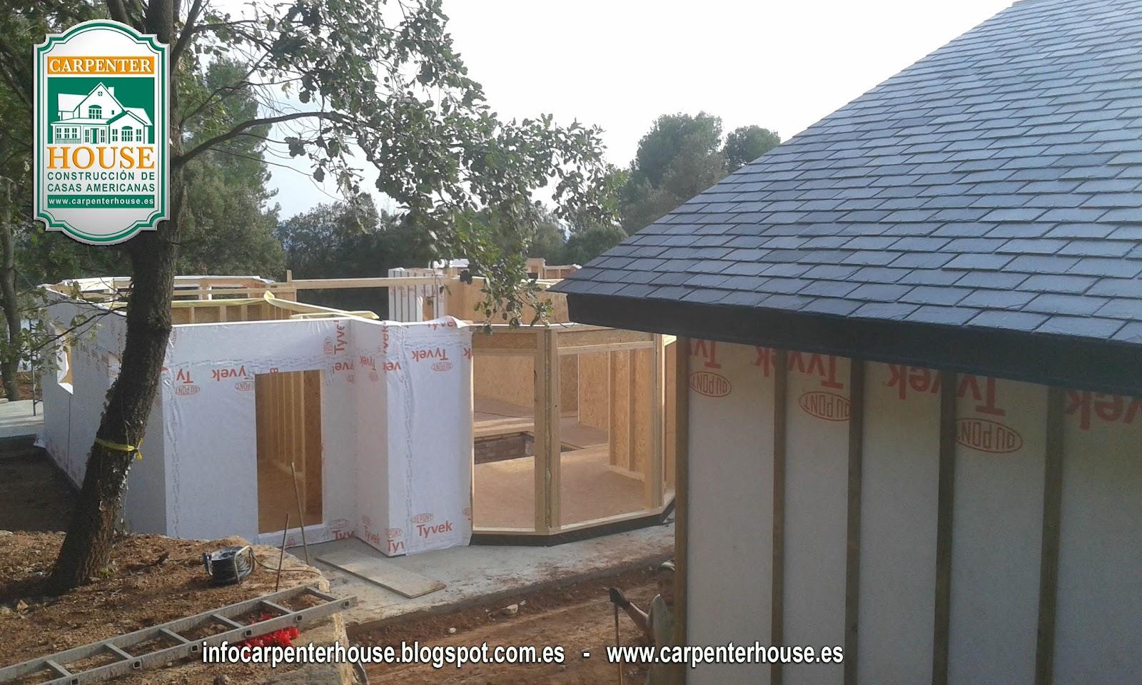Carpenter house 3 fase construcci n casa en el vall s - Casas en valles occidental ...