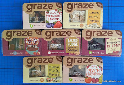 Graze 'Good To Go' instore sweet Snack Range
