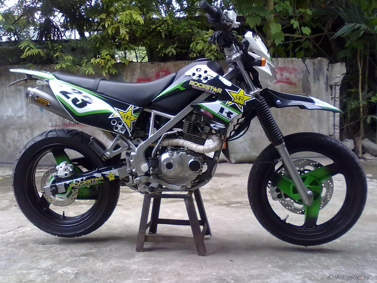 Koleksi Gambar Dan Cara Modifikasi Motor Trail Kawasaki Klx 150