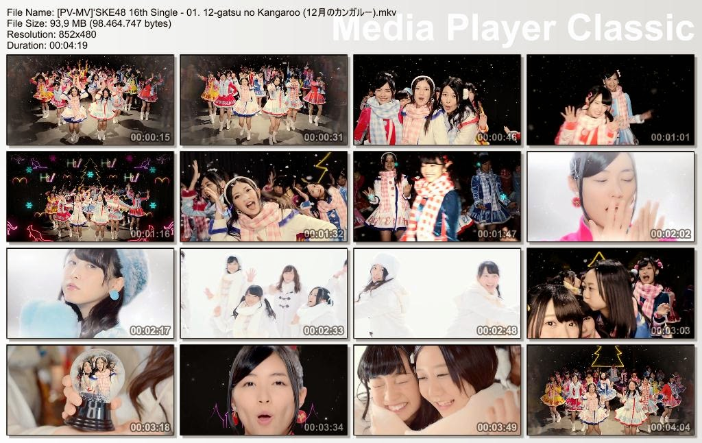 [MUSIC VIDEO] SKE48 16th Single – 03. DADA Machine Gun / DADAマシンガン (2014.12.10/MKV/RAR)