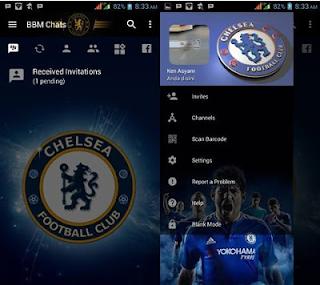 BBM MOD Chelsea Apk Mod 3.2.0.6 Terbaru