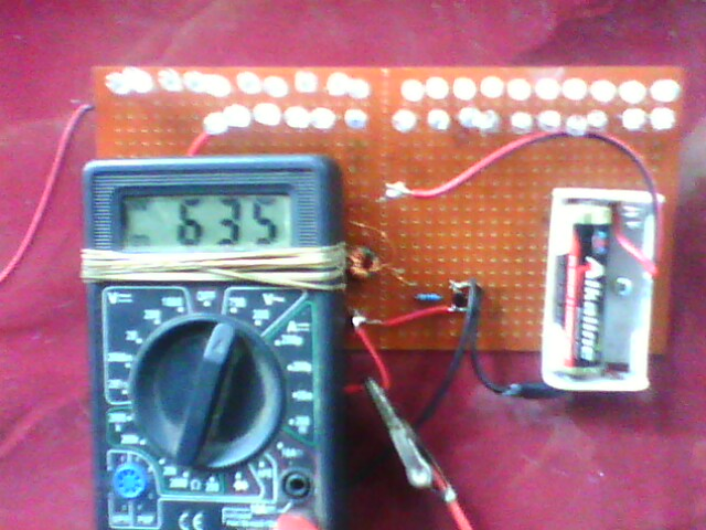 Solusi Battery Joule Thief Project Free Energy