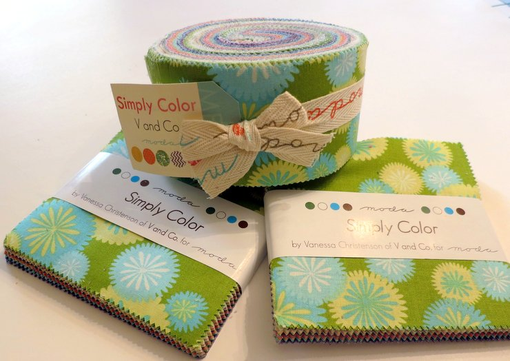 Charm Jelly Roll Friendship Quilt Tutorial & Simply Color Giveaway