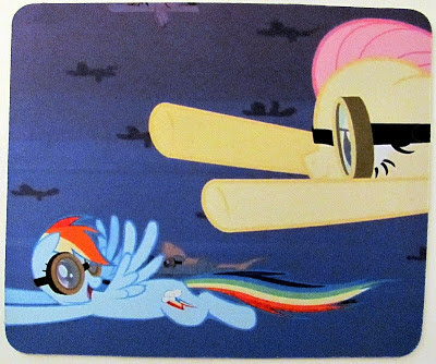 Mouse mat showing a scene from Hurricane Fluttershy