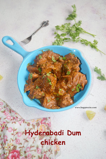Hyderabadi Dum Chicken Masala Recipe
