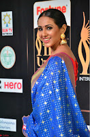 Priya Shree in Beautiful Blue Saree at IIFA Utsavam Awards 2017  Day 2    HD Exclusive Pics 08.JPG