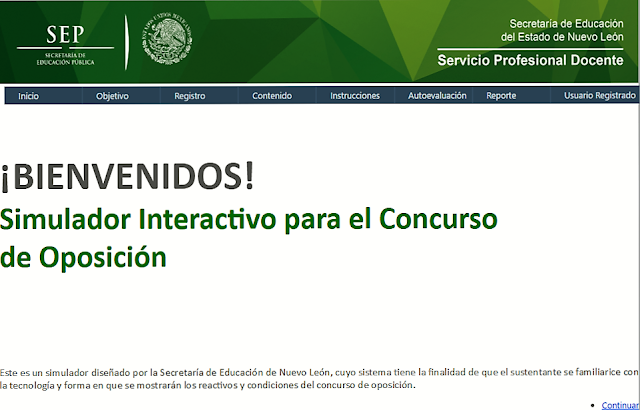 simulador interactivo concurso oposición