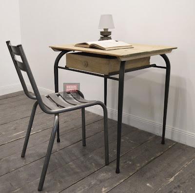 Boutique indus spirit meuble industriel d coration industrielle meuble de m tier lyon - Petit bureau vintage ...