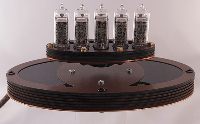 levitating nixie clock