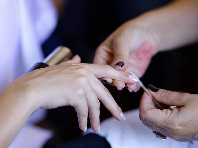 Casamento - Dia da Noiva - Unhas