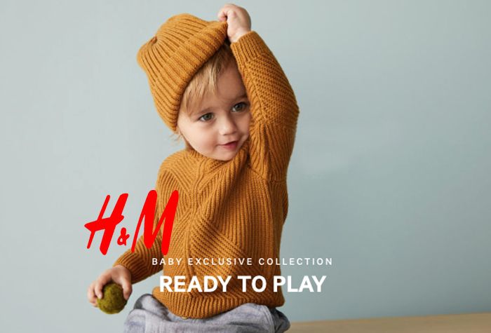 Rafa-kids Bench at H&M