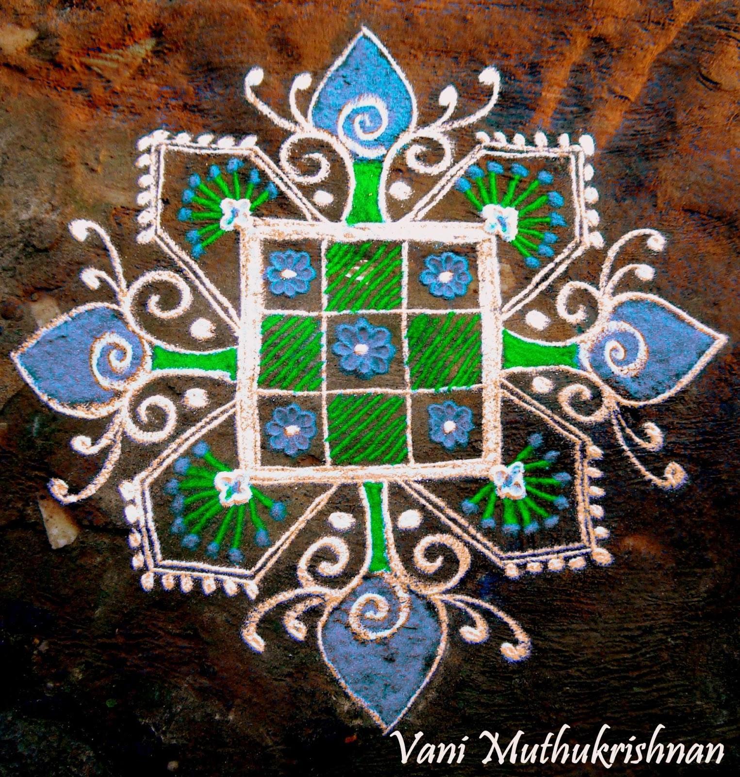 Kolam Designs 9