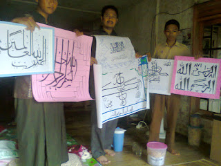 Revitalisasi Seni Kaligrafi Islam dengan Lebih Bergairah