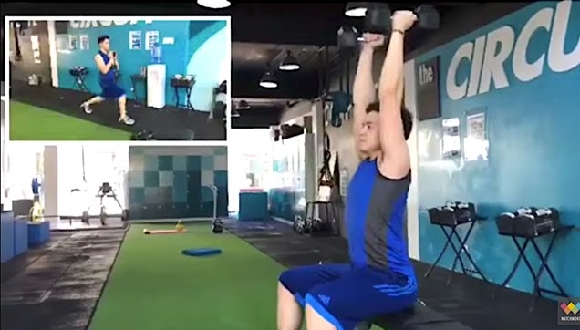 See how Alden Richards workout