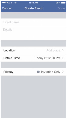 How to Create a Private Event on Facebook