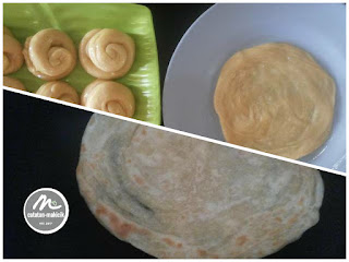 Step by step roti maryam