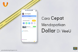 Cara cepat mendapatkan dollar di veeu android tanpa root dengan termux dan apk di android