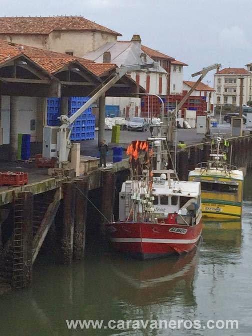 Foto del Puerto de San Juan de Luz | caravaneros.com