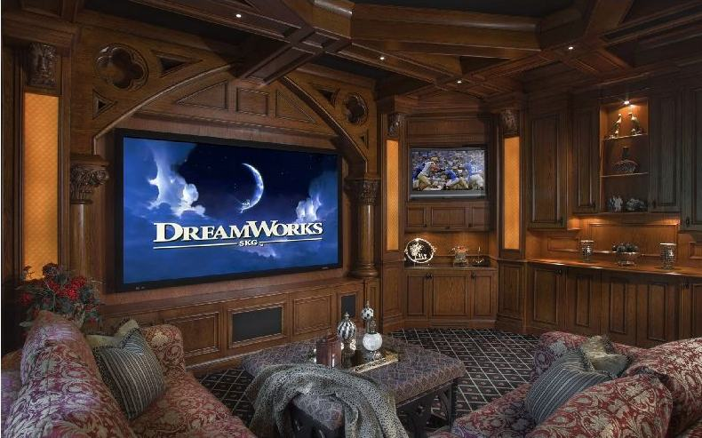 Inspirational Ideas For Home Theatre Rooms Kerala Home