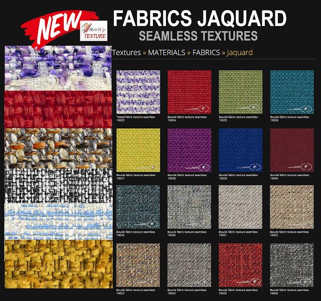 fabrics jaquard textures tiled
