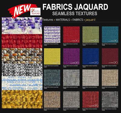 jaquard, bouclè, tweed, fabrics textures tiled
