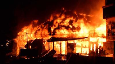 "Jeritan Anak Korban Kebakaran: ""Oh Tuhan Dang Boi Ditolong Ko Apala Sada Pe"""