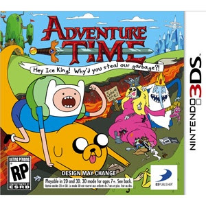 Adventure Time: Hey Ice King! Why'd you steal our garbage?! 3ds, español, mega