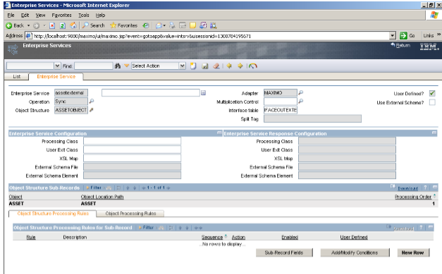 IBM Maximo,ServiceNow and Careers Blog: Maximo IFACE table