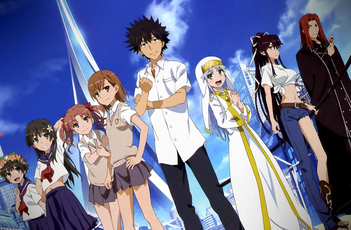 [7 Animes Indispensáveis] - Dengeki Bunko Magical-Index-Season-3