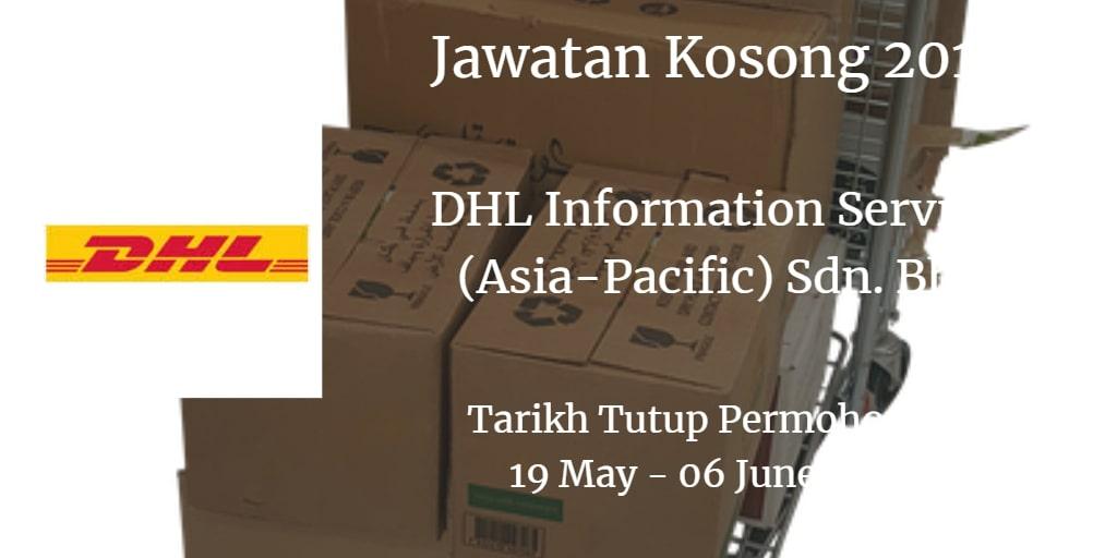 Jawatan Kosong DHL Information Services (Asia-Pacific) Sdn. Bhd 19 May - 06 June 201