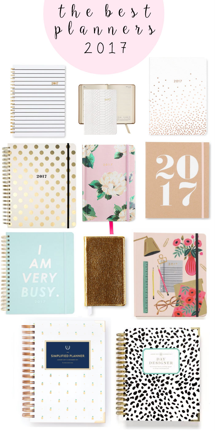 2017 planners, 2017 agendas, school supplies, planning