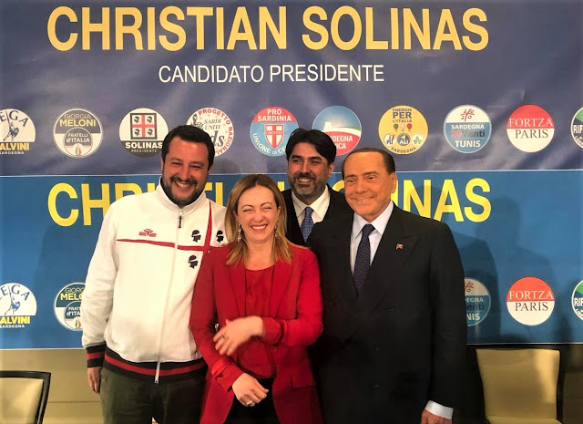 Eleccions regionals Sardenya 2019