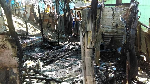 Dos niños mueren calcinados en Las Matas de Farfán