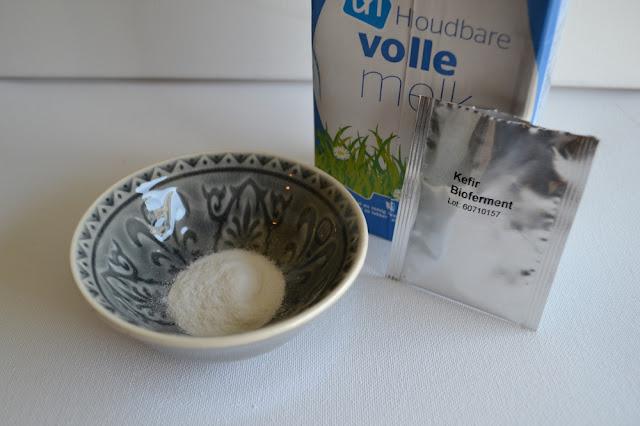 kefirkorrels en houdbare melk