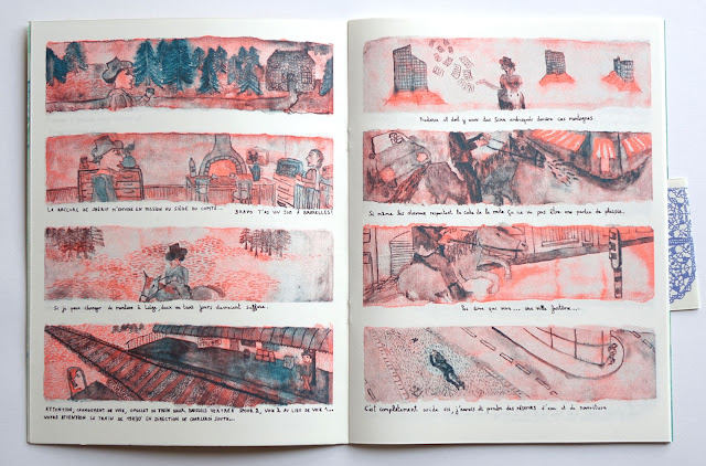 double page Western Nathalie Lefevre