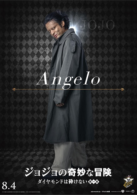 "Takayuki Yamada como Anjuro ""Angelo"" Katagiri."