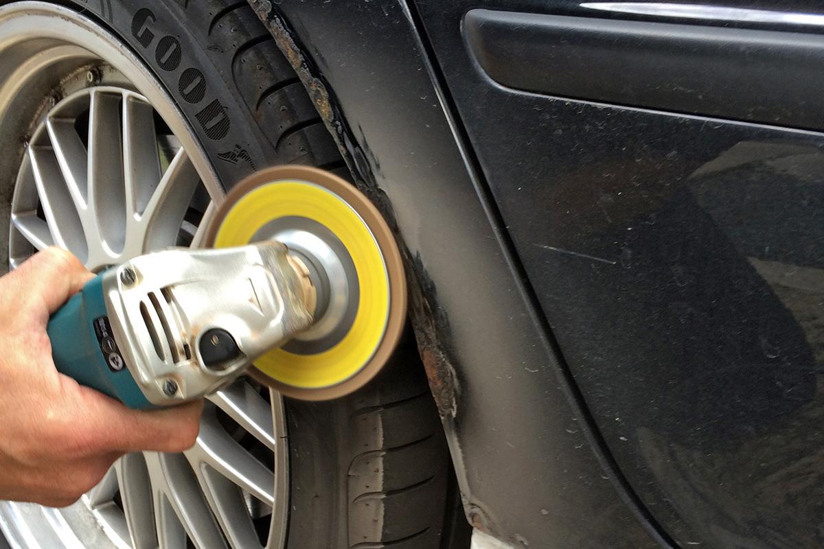 E46 Rear Wheel Arch Rust Repair and Respray [DIY]