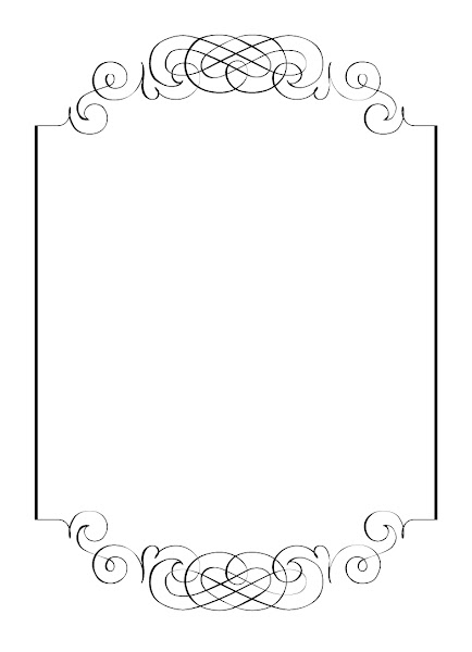 scroll drawing template - blank scroll template printable