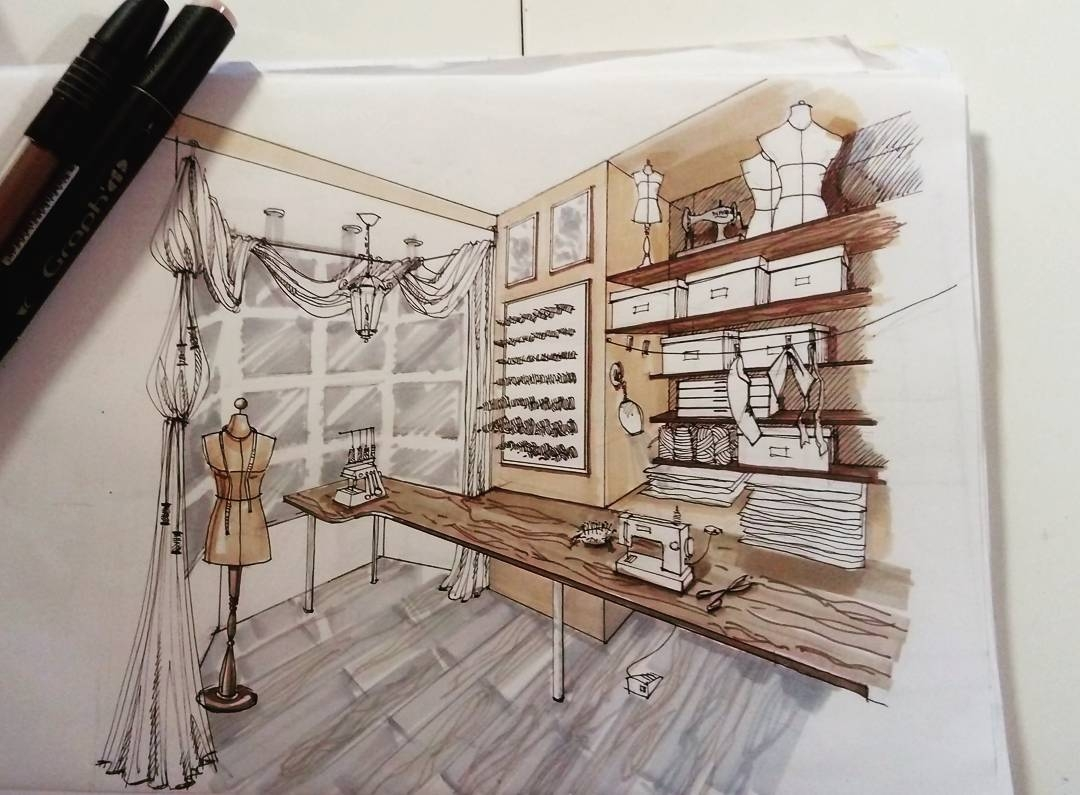 06-Dress-Maker-s-Shop-Мilena-Interior-Design-Illustrations-of-Room-Concepts-www-designstack-co