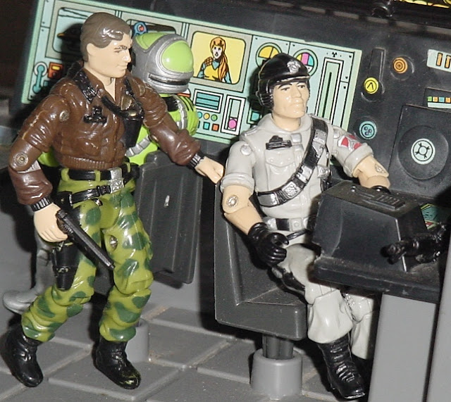 1986 Mainframe, Sci Fi, 1985, Mauler, Snake Eyes, General Hawk, Dial Tone, Transportable Tactical Battle Platform